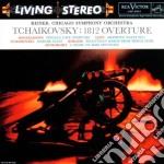 Ciaikovsky - ouverture 1812,marche slave cd musicale di Fritz Reiner
