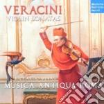 Veracini-sonate per violino e b.c. cd musicale di Riccardo Minasi