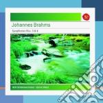 Brahms:sinfonie n.3+4 cd musicale di Gunter Wand