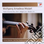 Mozart:conc.violino n.4+5-adagio k261 cd musicale di Pinchas Zukerman