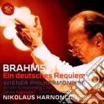 Brahms - requiem tedesco cd musicale di Nikolau Harnoncourt
