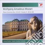 Mozart:concerti per piano n.21 e n.23 - cd musicale di Murray Perahia
