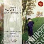 Mahler - sinfonia n.10 cd musicale di David Zinman