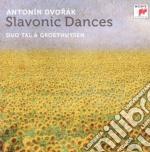 Dvorak - danze slave per piano 4 mani cd musicale di Tal / groethuysen