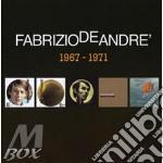 5 album originali 1967-1971 cd musicale di Fabrizio De Andrè