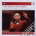 Sibelius: sinfonie (complete)/concerto p cd musicale di Lorin Maazel