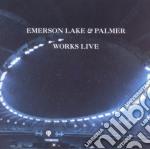 WORKS LIVE - N.E.                         cd musicale di Emerson lake and pal