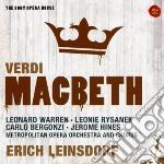 Verdi-macbeth-leinsdorf cd musicale di Erich Leinsdorf