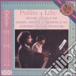 Mozart-sonata per due pf k448/schubert-f cd musicale di Perahia/lupu