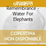 Water for elephants cd musicale di Ost