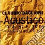 Sogno di una notte di note cd musicale di Claudio Baglioni