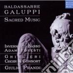 Baldassarre galuppi sacred music cd musicale di Giulio Prandi