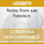 Notes from san francisco cd musicale di Rory Gallagher