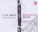C.p.e. bach: concerti, trii e sonate per cd musicale di Sergio Azzolini