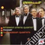 Mozart quartetti prussiani cd musicale di Emerson string quart