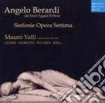 Angelo berardi - sinfonie opera settima cd musicale di Mauro Valli