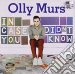 In case you didn't know cd musicale di Olly Murs