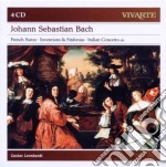 Bach: suite francesi & sinfonie concerto cd musicale di Gustav Leonhardt