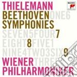 Beethoven:sinfonie n. 7, 8 & 9 cd musicale di Christia Thielemann