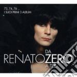 Da zero a tre (3 cd vinyl replica) cd musicale di Renato Zero