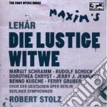 Lehar - la vedova allegra cd musicale di Robert Stolz