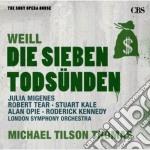 Weill - sette peccati capitali - opera d cd musicale di Micha Tilson thomas