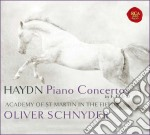 Haydn - Concerti Per Piano E Orch. - Schnyder / Academy Of St. Martin In The Fields cd musicale di Oliver Schnyder