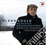 Scriabin / sibelius orchestrazioni di gl cd musicale di Glenn Gould