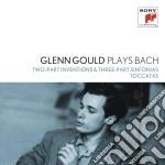 Bach:invenzioni a tre parti e sinfonie cd musicale di Glenn Gould