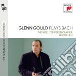 Bach:il clavicembalo ben temperato libro cd musicale di Glenn Gould