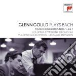 Bach:concerti per piano n. 1-5 & 7 cd musicale di Glenn Gould