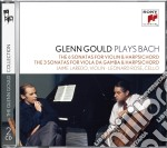 Bach:6 sonate per violino e cembalo cd musicale di Glenn Gould