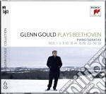 Beethoven:sonate nos. 1-3; 5-10; 12-14; cd musicale di Glenn Gould