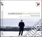 Beethoven:sonate nos. 1-3; 5-10; 12-14; cd musicale di Glenn Gould