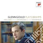 Brahms:ballate-rapsodie-intermezzi cd musicale di Glenn Gould