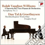 Vaughan williams: piano concerto & symph cd musicale di Tal / groethuysen