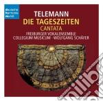 Telemann:die tageszeiten(cantata) cd musicale di Freiburger baroque o