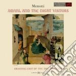 Menotti: amahl e i visitatori notturni cd musicale di Thomas Schippers