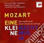 Mozart:eine kleine nachtmusik: complete cd musicale di De'cavalier Concerto