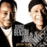 GIVIN' IT UP cd musicale di BENSON GEORGE & ALL JARREAU