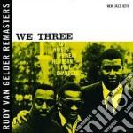 WE THREE cd musicale di Haynes/newborn/chamb