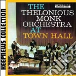 AT TOWN HALL cd musicale di Thelonious Monk