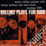 PLAYS FOR BIRD cd musicale di Sonny Rollins