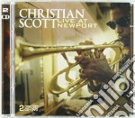 Live at newport +dvd cd musicale di Christian Scott