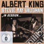 IN SESSION CD+DVD                         cd musicale di KING ALBERT & STEVE RAY VAUGHA
