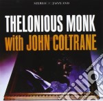 THELONIOUS MONK WITH JOHN COLTRANE        cd musicale di Thelonious Monk