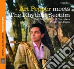 ART PEPPER MEETS THE RHYTHM SECTION       cd musicale di Art Pepper