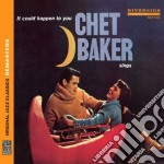 CHET BAKER SINGS: IT COULD HAPPENT TO     cd musicale di Chet Baker