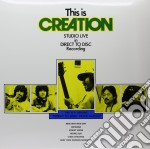 (LP VINILE) This is creation - studio live in direct lp vinile di Creation