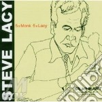 5 x monk, 5 x lacy cd musicale di Steve Lacy
